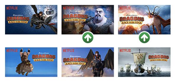 Netflix Thumbnail Optimizer Deep Learning Applications Digital Apps Websites UX UI