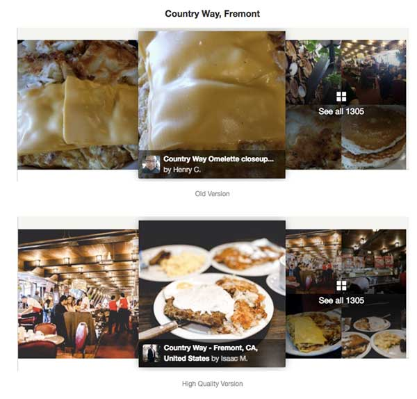 Yelp Beautiful Photos Alex Miller Deep Learning Applications Digital Apps Websites UX UI