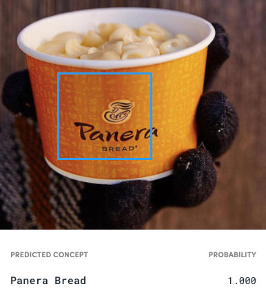 Panera Bread Clarifai Computer Vision Image Recognition Product